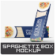 Spaghetti Box Mock-up - GraphicRiver Item for Sale