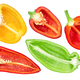 Bell peppers halves - PhotoDune Item for Sale