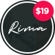 Download Rima - Personal Blog WordPress Theme from ThemeForest