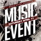 Music Event Flyer - GraphicRiver Item for Sale