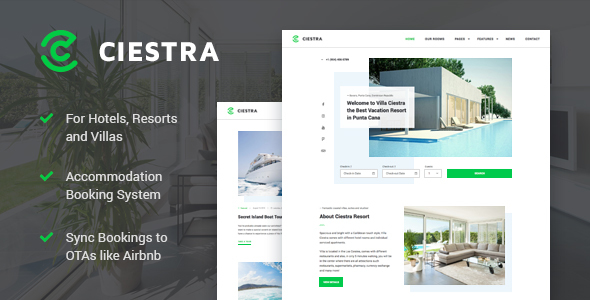 Ciestra - Resort WordPress Theme - Real Estate WordPress