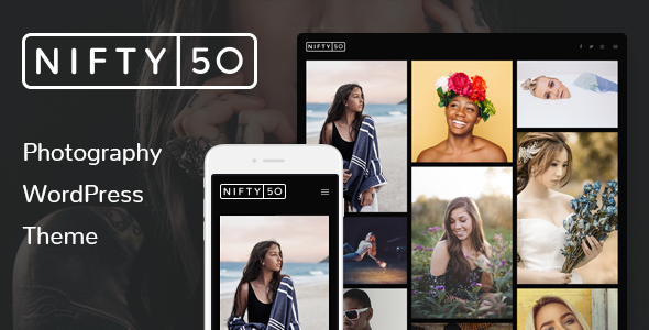 Nifty Fifty Photography WordPress Theme - Photography Creative