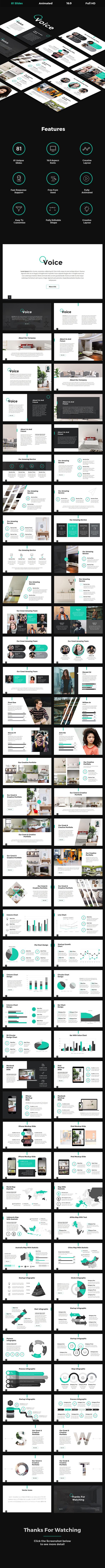 Voice - Creative PowerPoint Template - Creative PowerPoint Templates