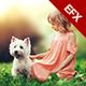 Blurry Background Lens Effect - EthanFX - GraphicRiver Item for Sale