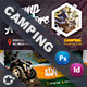 Camping Business Card Bundle Templates - GraphicRiver Item for Sale