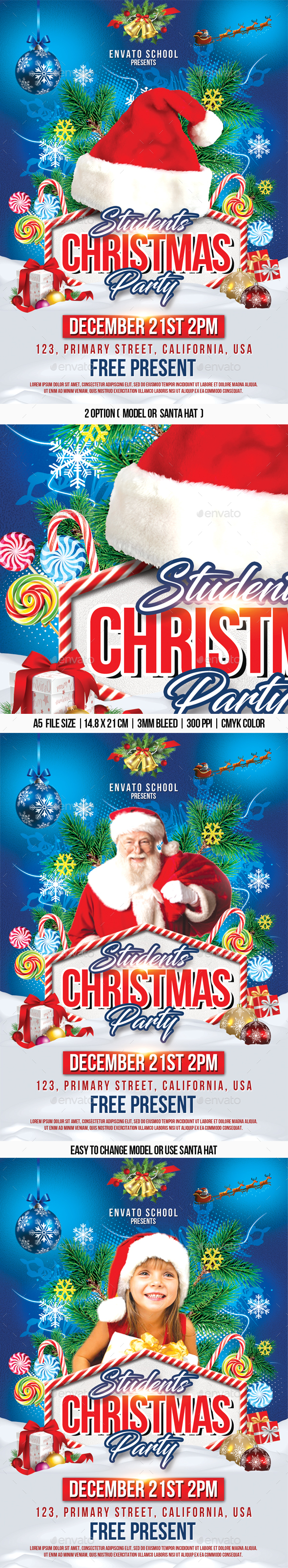 Students Christmas Party - Holidays Events