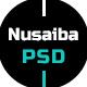 Nusaiba – Portfolio or CV PSD Template - ThemeForest Item for Sale