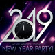 2019 New Year Party Poster - GraphicRiver Item for Sale