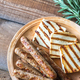 Grilled sausages and cheese with rosemary - PhotoDune Item for Sale