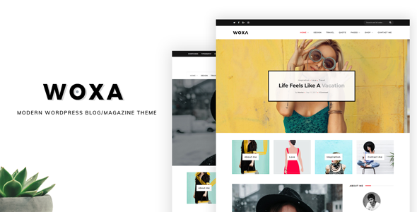Woxa - Responsive WordPress Theme for Blogs/Mini-Magazines - Blog / Magazine WordPress