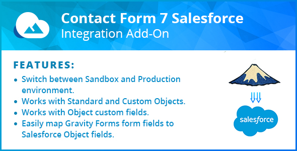 Contact Form 7 Salesforce Integration Add-On            Nulled
