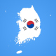 South Korea Map Kit - VideoHive Item for Sale