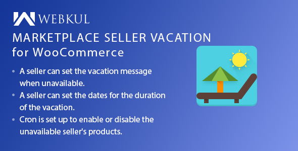 Multi Vendor Marketplace Vacation Plugin for WooCommerce - CodeCanyon Item for Sale