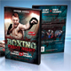 Boxing DVD Cover - GraphicRiver Item for Sale