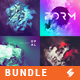 Abstract Album Cover Artwork Templates Bundle - GraphicRiver Item for Sale