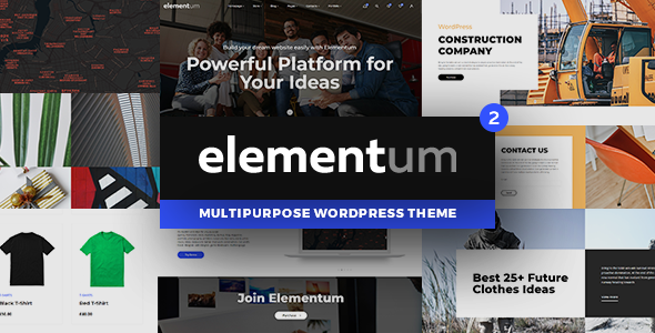 Elementum - MultiPurpose High-Perfomance WP Theme