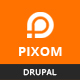 Pixom - Multipages Responsive Drupal 8 Theme | Business - ThemeForest Item for Sale
