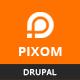 Pixom - Multipages Responsive Drupal 8 Theme | Business - ThemeForest Item for Sale