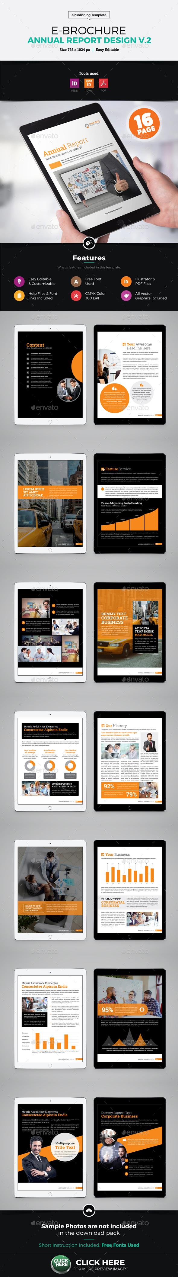 E-Brochure Annual Report Design v2 - Digital Books ePublishing