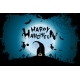 Halloween Background with Witches and Moon - GraphicRiver Item for Sale