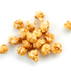 caramel popcorn on a white background - PhotoDune Item for Sale