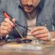 Engineer Working On Circuit Board - PhotoDune Item for Sale