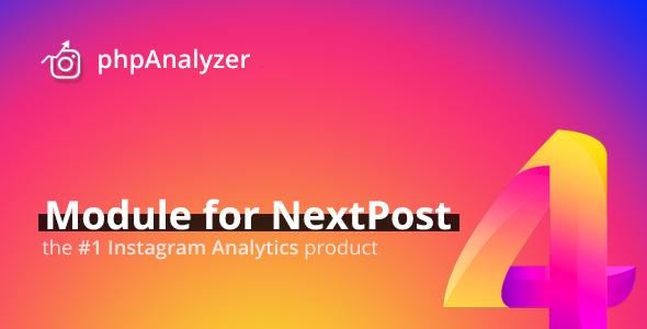phpAnalyzer for NextPost - Professional Instagram Statistics & Analytics            Nulled