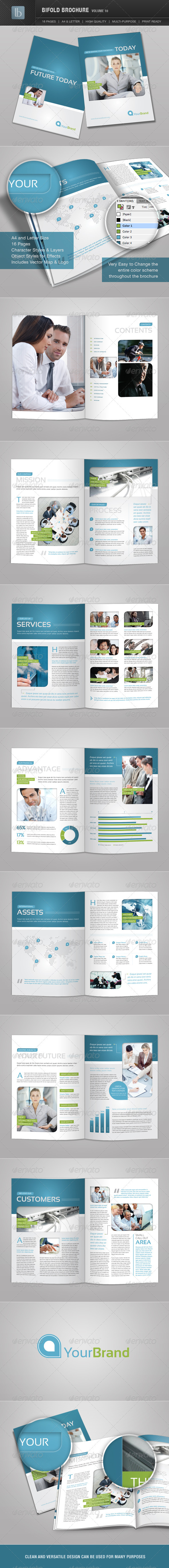 Bifold Brochure | Volume 10 - Corporate Brochures