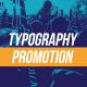 Typography Promotion - VideoHive Item for Sale