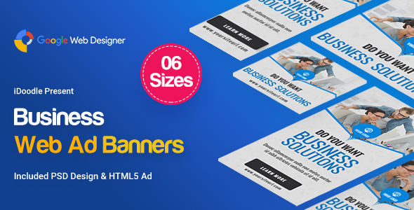 Business Banners HTML5 - GWD            Nulled
