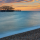 The remains of the Brighton West Pier  - PhotoDune Item for Sale