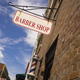 Barber Shop Sign Pole Downtown Urban Business - PhotoDune Item for Sale