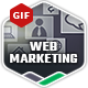 Web Marketing GIF Banners - GraphicRiver Item for Sale