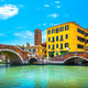 Venice, water canal and double bridge in Cannaregio. Italy. - PhotoDune Item for Sale