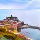Vernazza village, aerial panoramic view. Cinque Terre, Ligury, I - PhotoDune Item for Sale