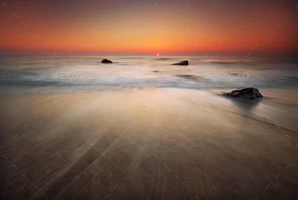 Sea sunrise - Stock Photo - Images