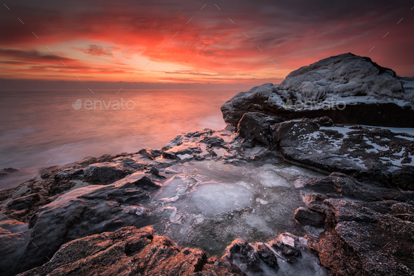 Fire and ice - Stock Photo - Images
