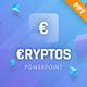 Cryptos - Crypto Currency PowerPoint Template - GraphicRiver Item for Sale