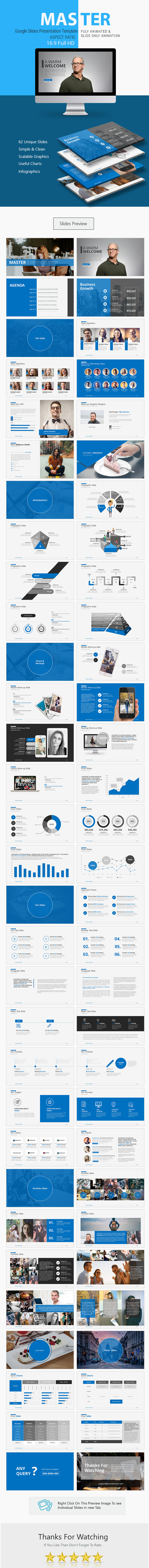 Master Google Slides Presentation - Google Slides Presentation Templates