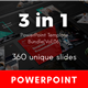 3 in 1 Multipurpose PowerPoint Template Bundle (Vol.06)