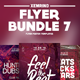 Club Flyer/Poster Bundle 7 - GraphicRiver Item for Sale