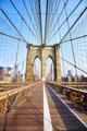Brooklyn Bridge at sunrise, New York. - PhotoDune Item for Sale