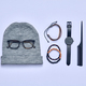 Man outfit. Trendy accessories Set. Fall Fashion - PhotoDune Item for Sale
