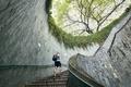 Spiral staircase of underground walkway - PhotoDune Item for Sale