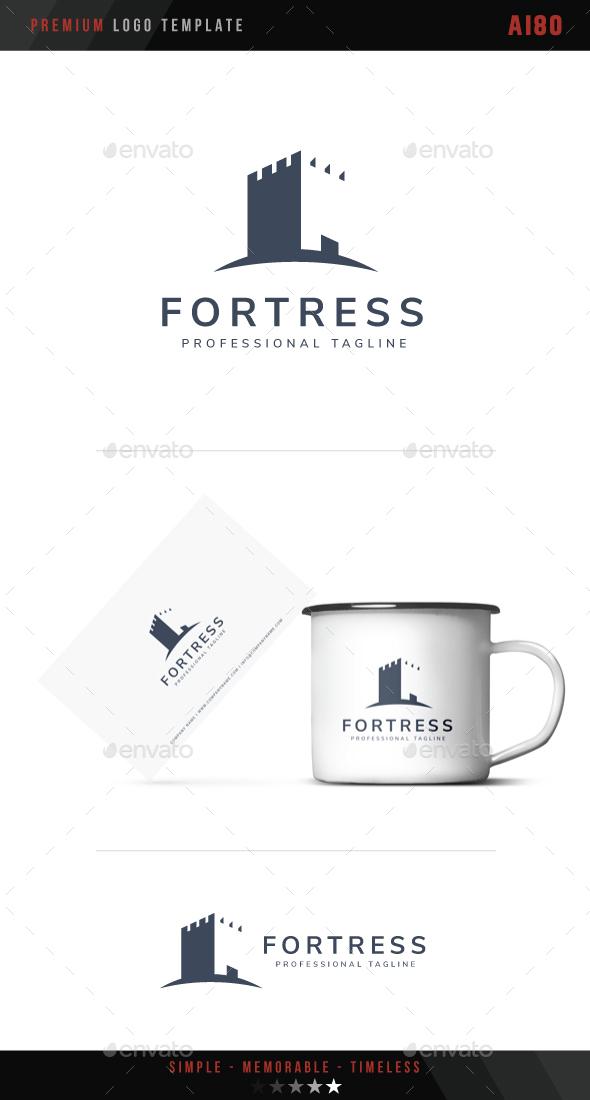 Fortress Logo - Buildings Logo Templates