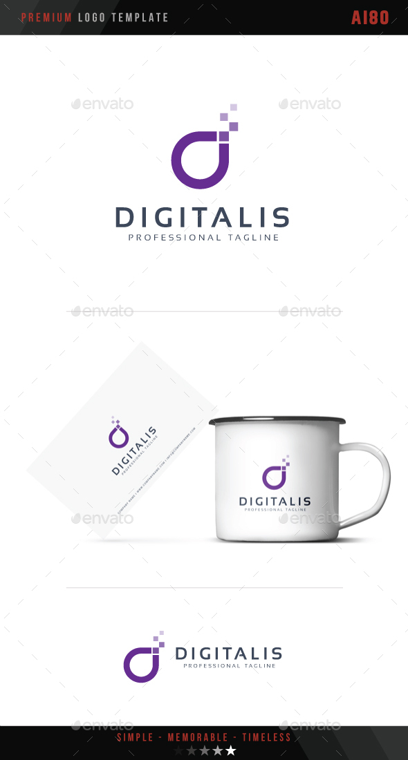 Digitalis Logo - Symbols Logo Templates