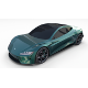 Tesla Roadster Green - 3DOcean Item for Sale