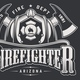 Vintage Firefighting Emblems - GraphicRiver Item for Sale