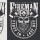 Vintage Firefighter Emblems - GraphicRiver Item for Sale