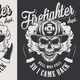 Vintage Firefighter Labels - GraphicRiver Item for Sale